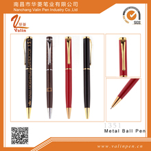 Metal branded pens with high quality and competitive price