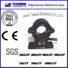 AC/DC hall effect current sensor/split core current sensor