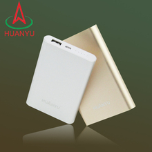 promotional fashion power bank with luxury gold and business silver colors