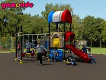 Le immagini di at12038 parco giochi diapositive parco giochi in plastica per esterni 3.0m diapositive