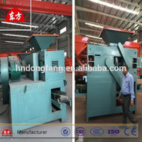 factory supply iron/carbon/coal powder briquette making machine price