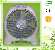 """with good quality and competitive price AC110V 220V 12"""" 14"""" 16"""" ABS Plastic Box Fan"""