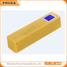 From Shenzhen supplier ,2015 Wholesale best selling Pocket usb portable Colorful mobile 2600mah power bank