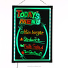 Canada import best low price bars advertising attact customers 40x60cm marker DIY mini led writing board