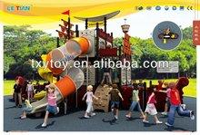 Tubo de acero galvanizado, firme y duradera de los niños el parque de atracciones al aire libre lt-2025a de diapositivas