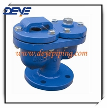 Flanged type Air Valves with Two Ball PN10 or PN16