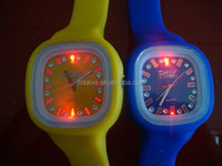 New design silicon watch candy rubber watch girl sweet watch