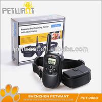 Remote Control Dog Antibark Collar