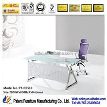 foshan office counter design,modern funiture, office top guangzhou PT-D0510