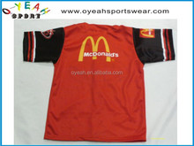 custom cool design with sublimation printed baseball jerseys /wear