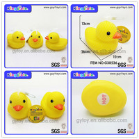 Wholeasle OEM fashion top best quality super safty inflatable swim duck