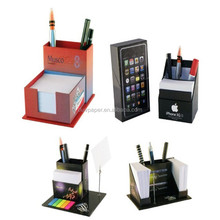 2015 China factory direct sale paper cube memo pad with pen