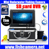 "New 7"" TFT LCD Video Camera System Fish Finder HD 600TV Lines Underwater Camera"
