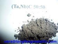 solid solution powders of tantalum carbide-niobium carbide (Ta,Nb)C 70:30 (Ta,Nb)C 60:40