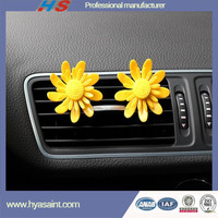 High quality flower shape car vent clips air freshener for car vent