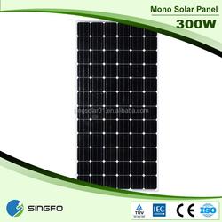 Mono and Poly 300w Solar Panel