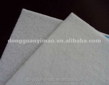 100% polyester hadr and thick needle punched material fiber felt