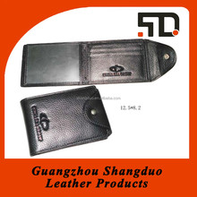 Wholesale Price Handmade Leather Business Name Card Case