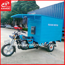 KAVAKI 175cc Tricycle Dump / Motorized Bicycle / Cargo Bike Triciclos For Sale