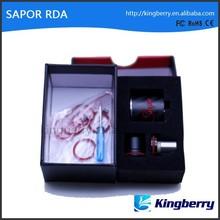 Lastest!!! E cigarette anthentic rda with pretty design original wotofo camo sapor rda from kingberry