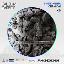 Manufacture supply calcium carbide 50-80mm 15-25mm sale CaC2 295l/kg calcium carbide in 100kg/ 50kg drums