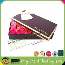 High quality fancy cardboard wedding boxes sweetes box