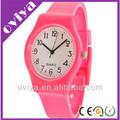 2014 baratos reloj de plástico, correa de silicona reloj