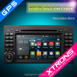 """PF7120ZA-7"""" Android 4.4.4 OS Multi-touch Screen Car DVD Player With Wireless Screen Mirroring Function & OBD2 For Benzw169"""