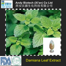10 years gold supplier Damiana Extract 4:1