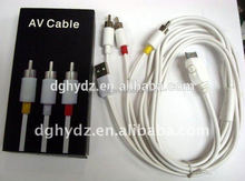 High quality factory low price rca audio video av cable