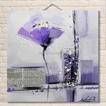 Home decor magnolia flower oil painting