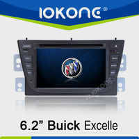 2 din in dash Car GPS DVD for Buick Excelle with Radio, TV, MP4, Bluetooth, iPod connector