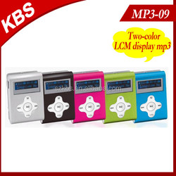 Best Selling Sport Mp3 Player With LCD Screen And FM Radio