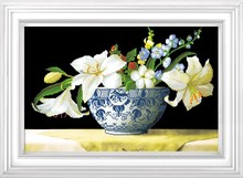 hand-painted modern acrylic painting flowers frame Stretched Canvas Oil Painting