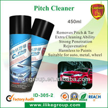 450ml Pitch Cleaner Spray, car care products, China