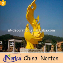Large Modern Monument Arts Sphere outdoor sculpture or landmark stainless steel sculpture NTS-487R