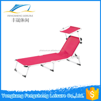 Sun Lounge Camping Bed With a Cot,Outside furniture