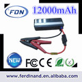Salto de partida de 005m novos mini-12v 12000 mah de energia de emergência para bancos de automóveis multi- função de salto de