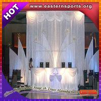 ESI 2015 portable wedding pipe and drape/mandap/wedding decoration design/uesd pipe and drape for sale