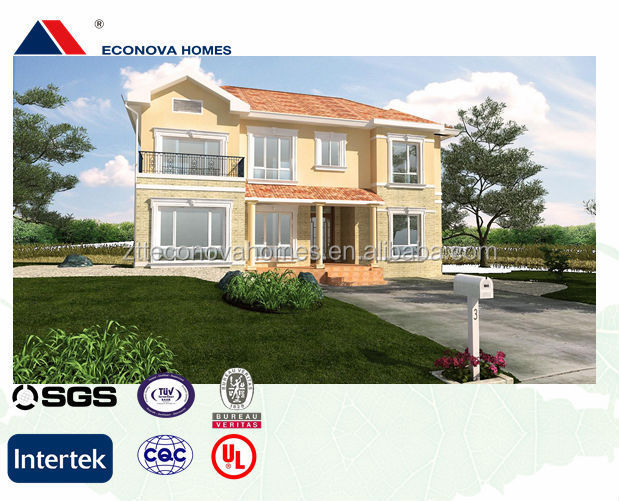 Quick build factory ready made eco house qualified by sgs ul with grey water treatment and low - Quick built homes ...