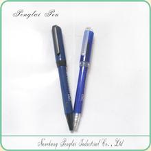2015 Best selling plastic screw korea stationery pen
