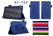 Litchi Pattern 2-folding Leather Case For Acer Iconia Talk S A1-724