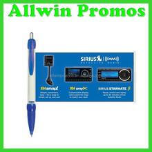 Promotional Scroll Banner Pen,Advertising Flag Pen