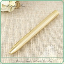 Business Gifts Metal Ballpoint Pen golden customized pen crystal blue ink pen