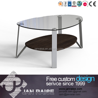 Tempered glass coffee table,glass side table,center table