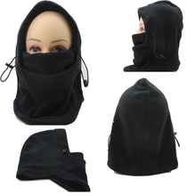 2015 New Winter Fashion Fleece Thermal Sports Motorcycle Bike Balaclava Ski Face Mask Hood Hat Helmet 14 Colors for Xmas