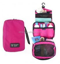 Good design hanging toilet bag / travel cosmetic bag / folding cosmetic bag