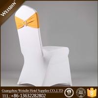 Spandex chair sash with rhinestone buckle for sale