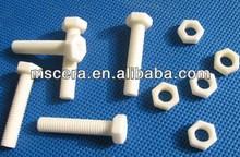 Hex head alumina ceramic screw