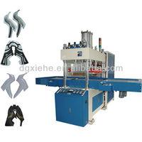15 KW Automaitc Seamless Shoe Making High Frequency Cutting Fusion Embossing Machine for PU/TPU/Mesh